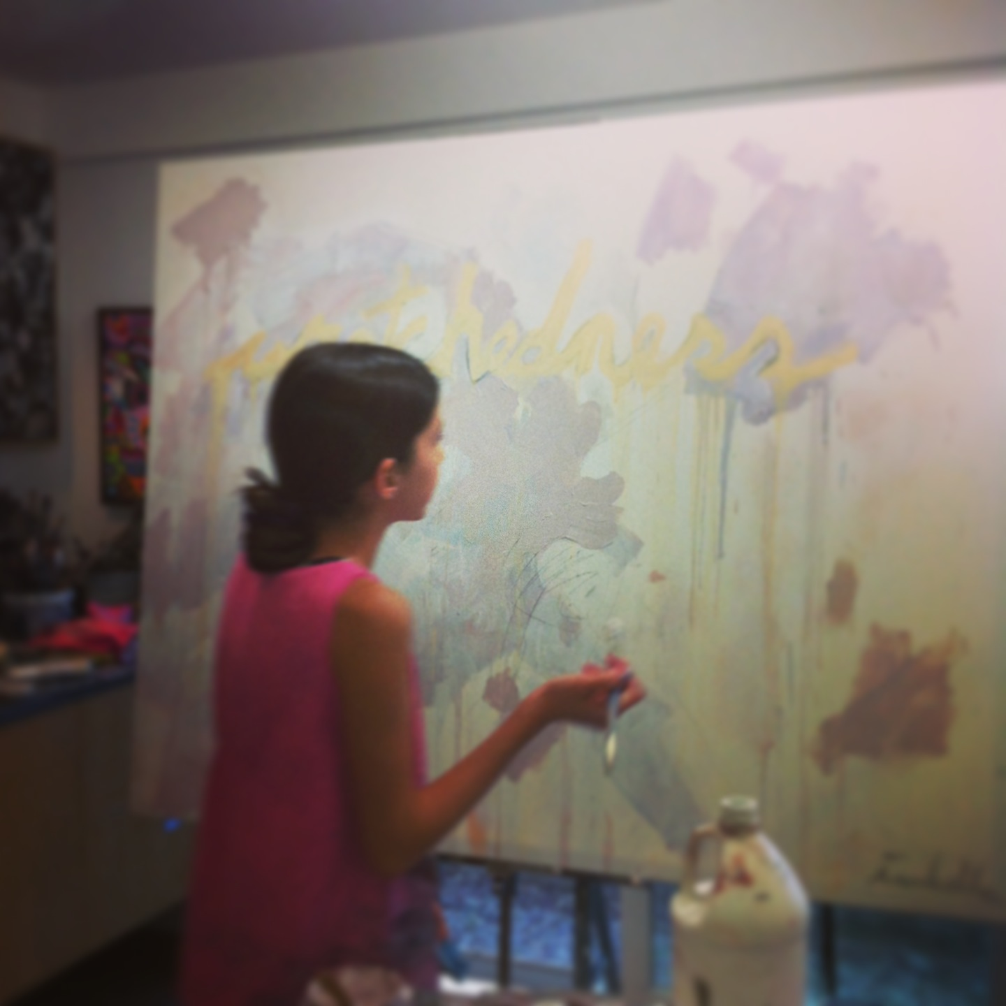 painting today . . . . . . . life is beautiful!
